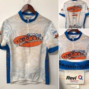 Revi Wear Cycling Bike Jersey Made In USA Large